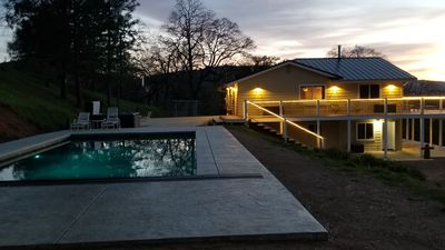 Photo for Large private house close to Yosemite. In-ground Pool, Spa, and nice views.