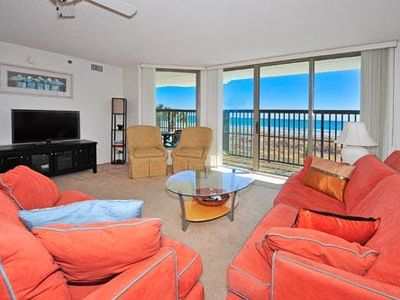 Photo for Emerald Cove 1B, 3 Bedroom Beachfront Condo, Pool and Free Wi-Fi!