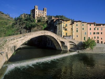 Photo for Farm Holidays with apartment  in Dolceacqua, under the castle