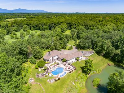 Photo for NEW! *Gated 31 Acre Modern Luxury Estate*Heated Pool*Hot Tub*Gym*Movie Theater**