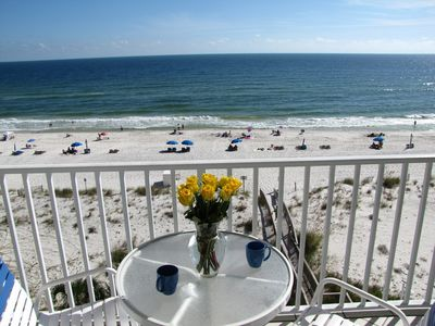 Photo for DELUX  ocean front condo RIGHT on the beach