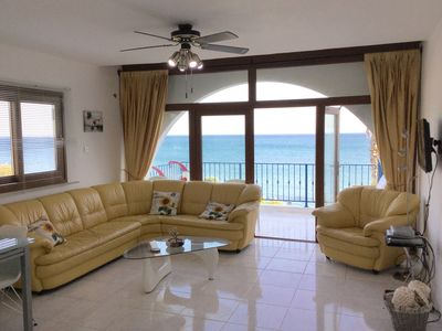 Photo for Charming One Bedroom Apartment On The Beach In Picturesque Pissouri Bay