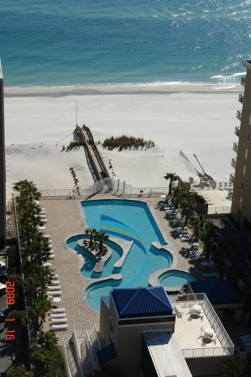 Spectacular 17th floor great views homeaway gulf for 17th floor concert schedule