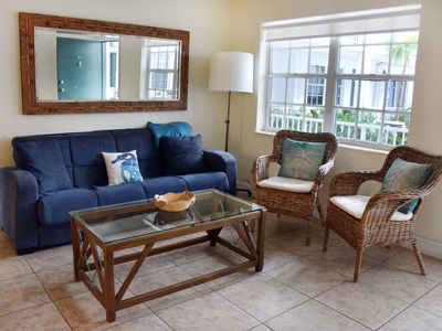 Photo for COZY 2BR/2BA IN KEY BISCAYNE, STEPS TO THE BEACH, POOL, PARKING, KITCHEN