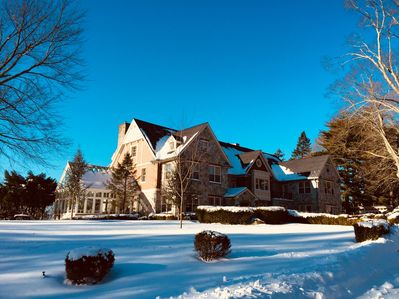 Experience our home in the winter!