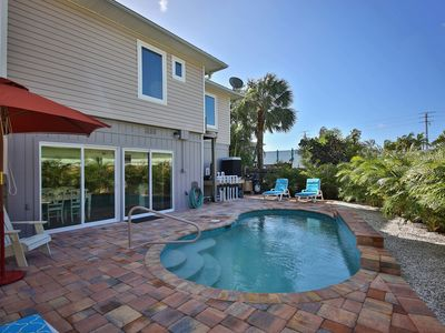 Photo for AWESOME BEACH HOUSE, 127 MIRAMAR, HTD POOL, STEPS TO BEACH, WALK TO TIMES SQUARE