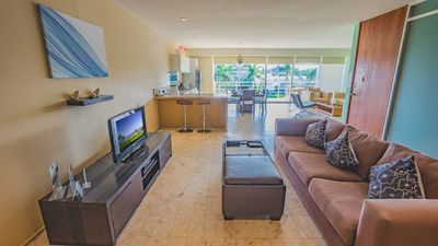 Photo for Magia Playa by BRIC Vacations - 2 bedroom condo steps from the beach!