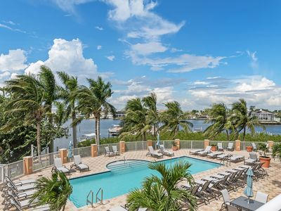 Photo for Fabulous 3 Bedroom Regatta Condo-With Exclusive Extended Patio/Lanai