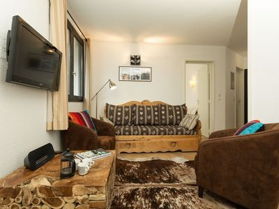 Photo for Excellent value for money, Balme 3b is a modern 2 bedroom apartment located in Chamonix Sud.