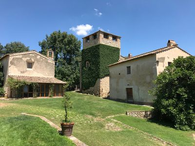 Photo for Historic, fully restored Borgo with little church, nature and lake