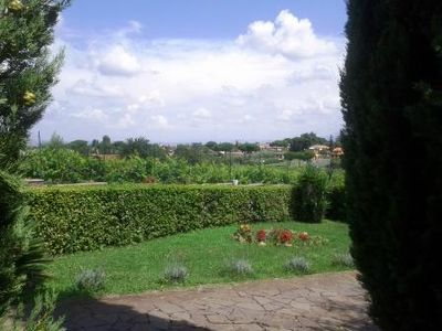 Photo for Rural house among vineyards and olive groves, for quiet holidays in the hills of Rome