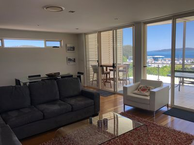 Photo for Penthouse 3br unit, a home-away-from-home with stunning views Nelson Bay.