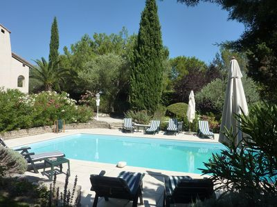 Photo for Beautiful Villa in Private Grounds, heated Pool, idyllic for memorable  holidays