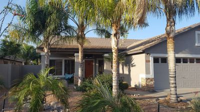 Photo for Beautiful, one level home with pool and nice patio
