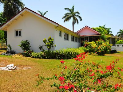 Photo for VILLA PATIENTLY WAITING - A DIAMOND LISTED RENTAL - A NORTH COAST JAMAICAN GEM