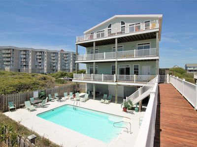 Photo for 11+Bdrm/14 Bath - Stunning Luxury Oceanfrnt. Htd Pool/Spa/Theater/Elev/WiFi