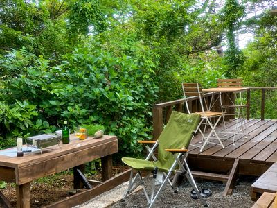 Photo for [Atami / Near Sea] Sanso-style / Forest bath relaxation 60㎡ Exclusive: Up to 7 people // Kitchen etc./Parking available