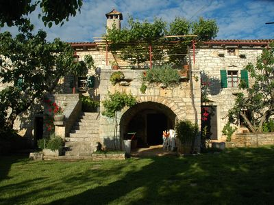 Photo for Ancient and hospitable house in the green Istria