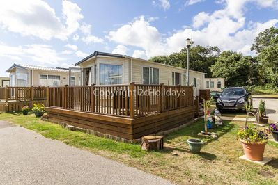 2 bed accommodation at Azure Seas Holiday Village