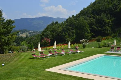 Beautiful pool, gardens and views!
