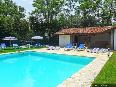 Photo for Superb house with tennis court, 18,000m2 garden