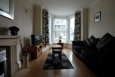 The living space is spacious and comfortable