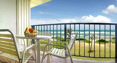 Photo for Oceanfront! 2 Air-Conditioned Bedrooms, overlooking the Pacific