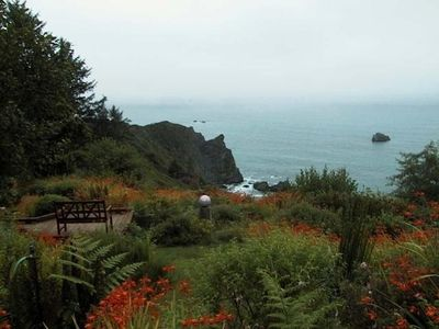 Photo for Abalone Cove--Dramatic Trinidad Oceanfront! Hot tub/Sauna/beach access/privacy!!