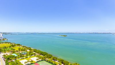 Photo for Stunning Bay View! Brand New Modern Bayfront Apt Near South Beach Best Location!
