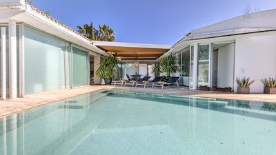 Photo for Modern Villa with Private Pool located 250 m from the beach and 500 m from Port de Pollensa Town!