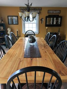 Farmer's Table built by owners father
