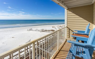 Photo for Leeward II Unit 4 - Gulf front Seagrove Condo