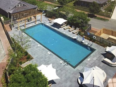 Photo for Gorgeous 6 Bed, Bike to Surfside, WIFI, Heated Pool, Tennis, Gym, Fire-Pit, A/C