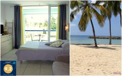 Photo for Beautiful studio, sea view and direct access to the beach. Ideal location