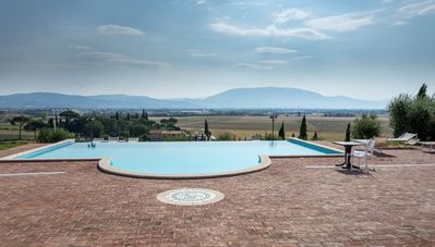 Photo for Sunset on Assisi. Apartment with swimming pool - 4 people