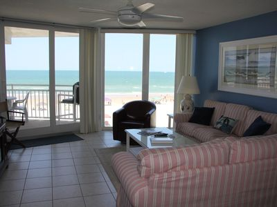 Photo for INCREDIBLE, Direct ocean views and access to beach!