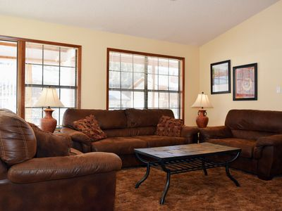 Photo for Large Home on the River, Perfect for Family Gatherings, WIFI, W/D, Satellite TV