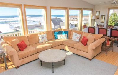 Photo for Island Time! Panoramic Ocean Views, Steps from Beach, With Hot Tub