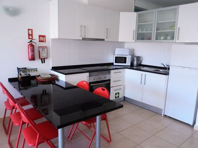 Photo for Modern Apt in the center of Albufeira, AC / Wifi, 10m walk to the beach,
