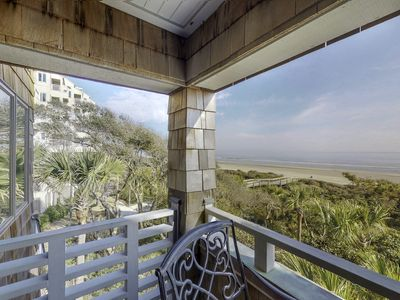 Photo for Oceanfront villa w/ spectacular views, balcony & shared tennis/golf nearby!