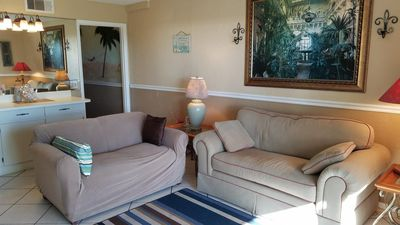 Photo for Beach Front! First Floor! 5 Star Rated! Great for families and older folks!!
