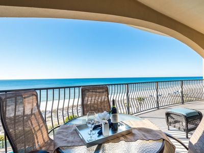 Photo for Newly Furnished 3rd Floor Gulf Front Condo! Complimentary Beach Service!