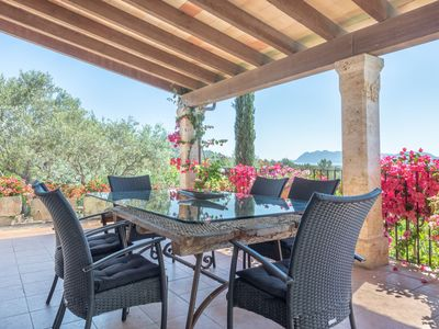 Photo for Air-conditioned Villa with Generous Pool, Terrace, Gorgeous Garden, and Wi-Fi