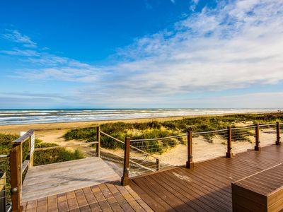 Photo for Dog-friendly oceanfront condo w/great views, beach access & shared pool/hot tub