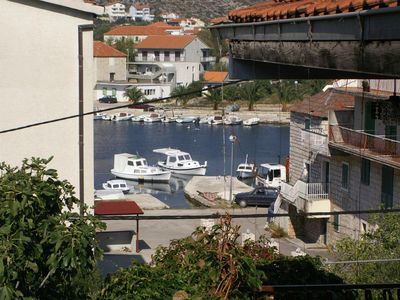 Photo for Two bedroom apartment with terrace and sea view Seget Vranjica (Trogir)