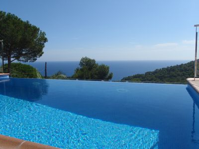 Photo for Ocean View Private Pool with Oxygen, TERRACE With SEA VIEWS AND FOREST
