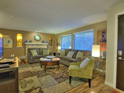 Photo for Large 4 bedroom home, 2 miles from downtown. 🐾 •A Del Mar Vacation Property