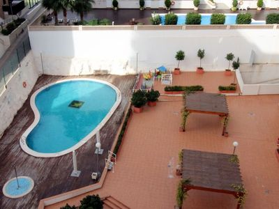 Photo for La Cala Apartment, Sleeps 2 with Pool, Air Con and WiFi