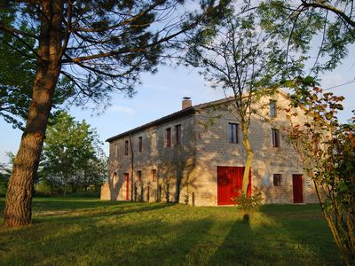 Photo for Old Stone Farmhouse & Pool with large gardens. Close to historic town of Jesi