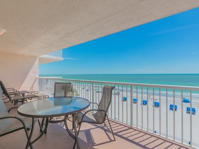Photo for SEAVIEW 304~Beachfront Family Friendly Condo w/ heated pool and Hot-tub.